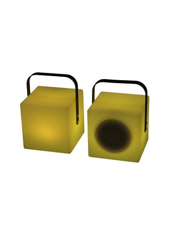 "Cozy Living Outdoor Lampe ""Blocko"" mit Bluetooth Lautsprecher 20 cm"