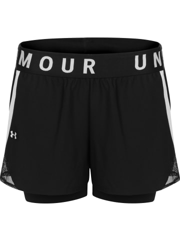 Under Armour Trainingsshorts Play Up 2-in-1 in schwarz