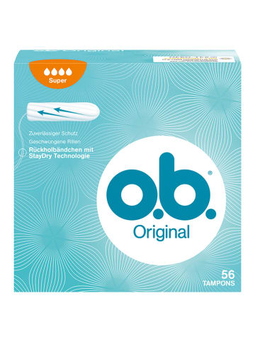 "O.b. Tampons ""Super"" ‒ 56 Stück"