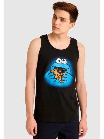 Sesamstraße Tanktop Cookie Monster in schwarz