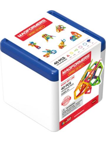 MAGFORMERS Set mit Aufbewahrungsbox 40 Teile
