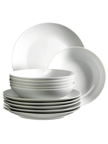 Mäser Tafelservice, Porzellan BARCA in weiß