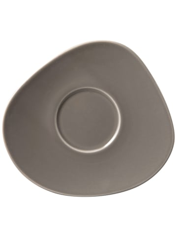 Like. by Villeroy & Boch Kaffee-Untertasse Organic Taupe in taupe