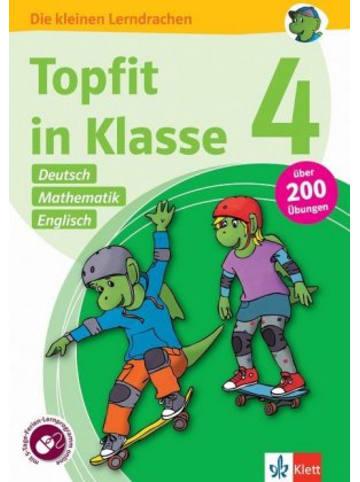 Klett Kinderbuch Topfit in Klasse 4 - Deutsch, Mathematik und Englisch