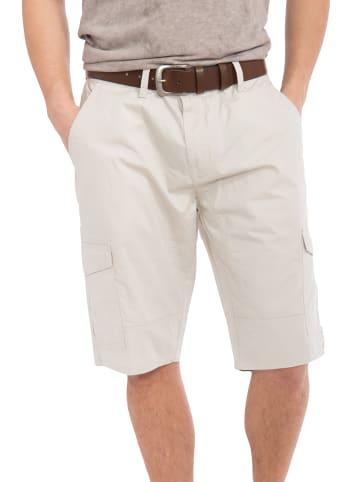 Way of Glory Cargo Shorts mit angenehmer Tragekomfort in offwhite