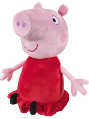 Jazwares Peppa Pig Deluxe Plüschfigur Peppa