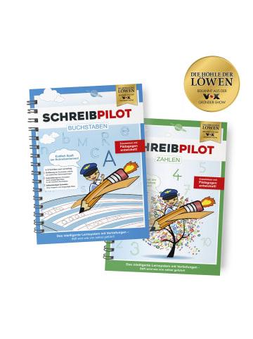 "Schreibpilot 6tlg.-Set: Ringbuch ""DIN-A4"" in Bunt"