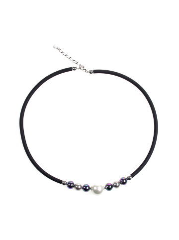 Perlas Orquidea  Perlenkette Aura Necklace in weiß