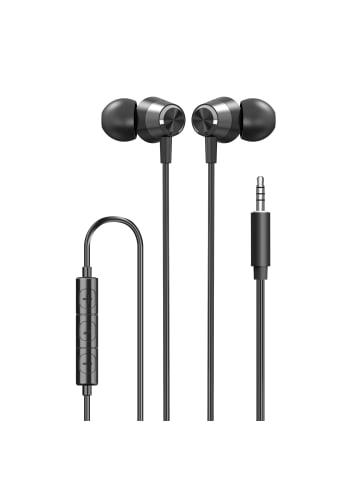 """Xqisit In-Ear Kopfhörer - Wired """"In-Ear Kopfhörer 3,5mm""""  in schwarz"""