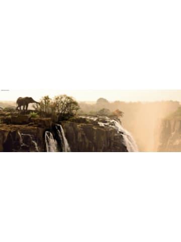 Heye Kalender Panorama-Puzzle Elephant, 1000 Teile