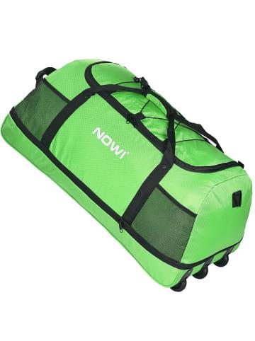 Nowi XXL Riesen Reisetasche mit 3 Rollen Rollenreisetasche 81 cm in apple green