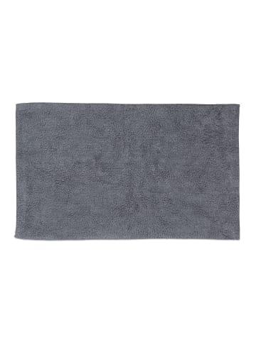 Relaxdays Badteppich in Grau - (B)60 x (T)100 cm