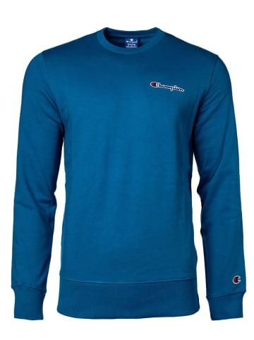 Champion Sweatshirt in Blau