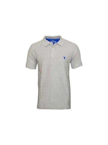U.S. Polo Assn. U.S. Polo Assn. Basic Poloshirt GRAU MELANGE