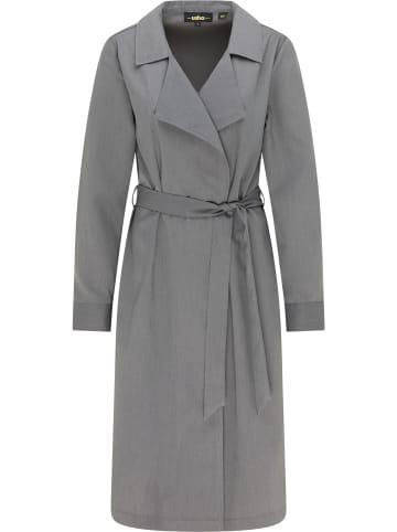 Usha BLACK LABEL Mantel in Grau