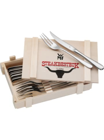 WMF 12-tlg. Steakbesteck Set in Holzkiste