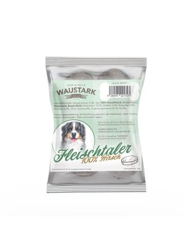 Waustark Premium luftgetrocknete Fleischtaler für Hunde 100% Hirsch, 6 Stck. (ca. 36g)