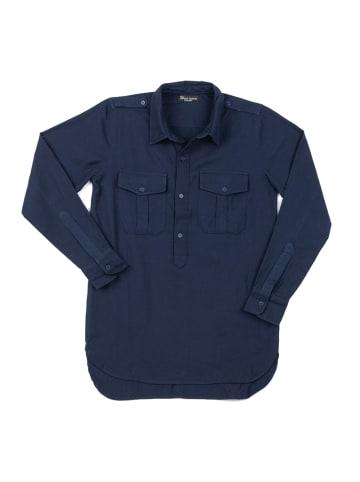 """OKKER-GOKKER NATURE Shirt """"Toke"""" in dunkelblau"""