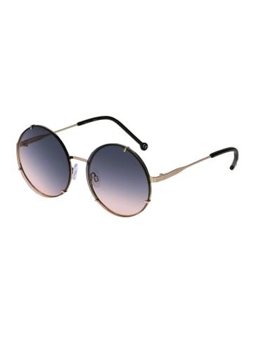 Six Sonnenbrille mit runden Gläsern in BLUE