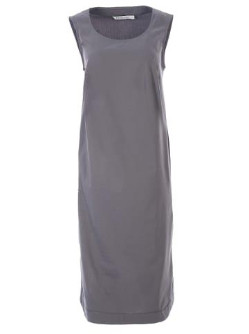 HELMIDGE Sommerkleid Midikleid in dunkel grau