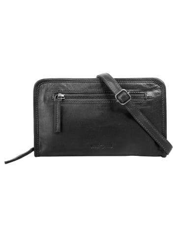 WouWou Abendtasche in schwarz