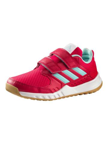 Adidas neo Sportschuh Fortagym Cloudfoam Kids in Rot