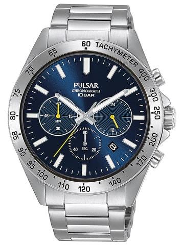 Pulsar Sport Herren-Armbanduhr Chronograph Blau
