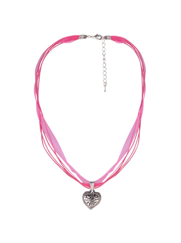 Schlick Accessoires 4 Bändern Halskette in Pink