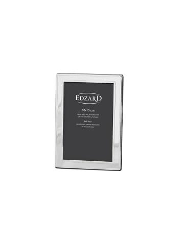 Edzard Bilderrahmen Nardo in Silber, für Foto 10x15 cm, Versilbert & Anlaufgeschützt