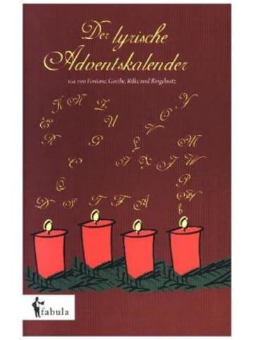 Fabula Verlag Der lyrische Adventskalender
