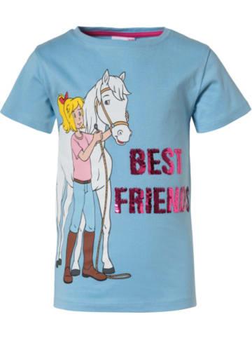 Bibi und Tina Bibi und Tina T-Shirt mit Wendepailletten
