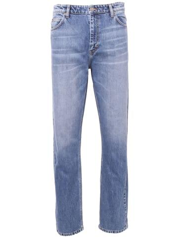 Just Junkies lange Loose-Fit-Jeans Jeans Curtis Dark Blue in dark blue