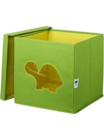 STORE IT Aufbewahrungsbox Schildkröte, mit Sichtfenster, grün