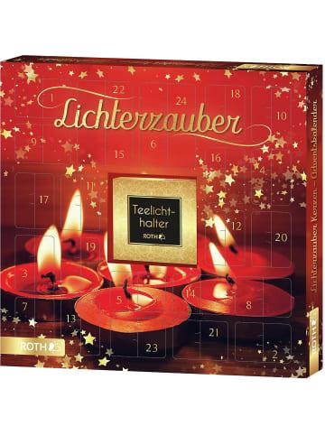 """Roth Ideen Adventskalender """"Lichterzauber"""" mit Kerzen"""