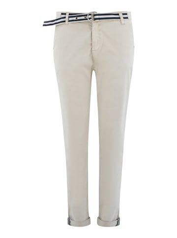 Bianco Jeans  Hose ESSONITE in Stone
