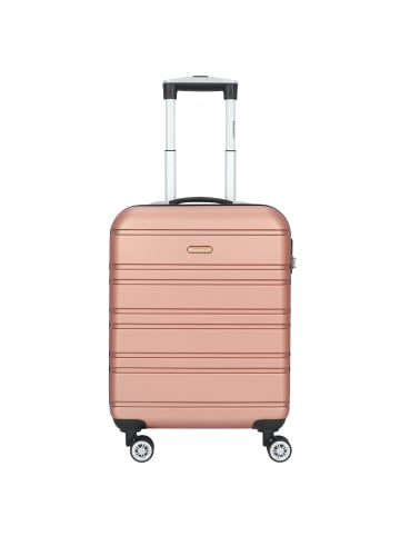 Check.In Paradise Miami 2.0 4-Rollen Kabinentrolley 55 cm in champagne