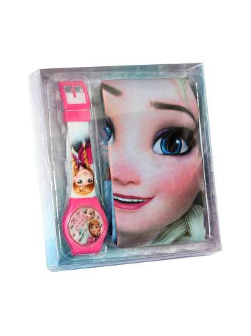 """Disney Frozen 2-tlg. Set: Uhr und Zugband-Rucksack """"Eiskönigin"""""""
