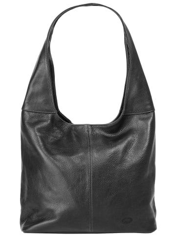 Piké Shopper in schwarz