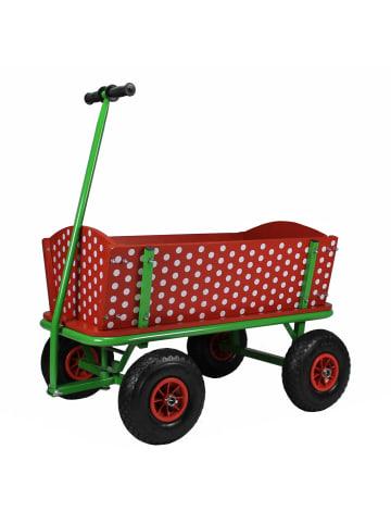 Beachtrekker Beachtrekker Style Holzbollerwagen, Handwagen, Leiterwagen (Rotkäppchen)