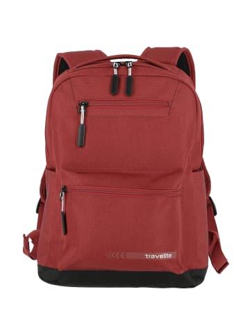 Travelite Kick Off Rucksack 40 cm Laptopfach in rot