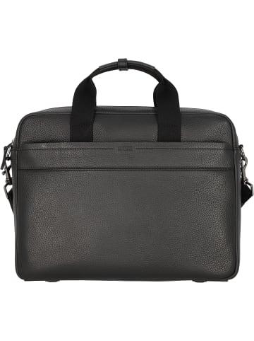 Bree Aiko 3 Aktentasche Leder 37 cm Laptopfach in black