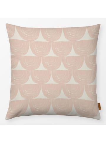 """Textilwerk.com Kissen """"upside down rainbow"""" in Rosa"""