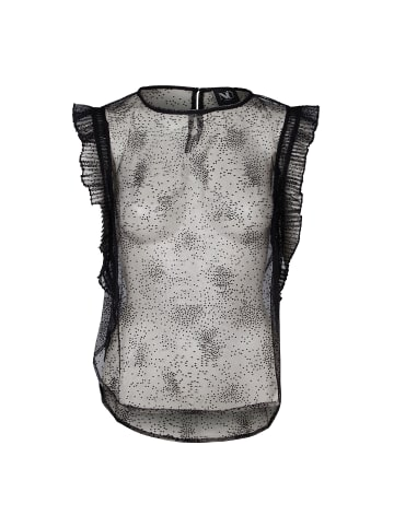 NÜ Ärmelloses Shirt Greta in schwarz