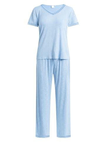 CCDK  Pyjama Set, lange Hose und kurzärmeliges T-Shirt Jordan S/S in Allure AOP