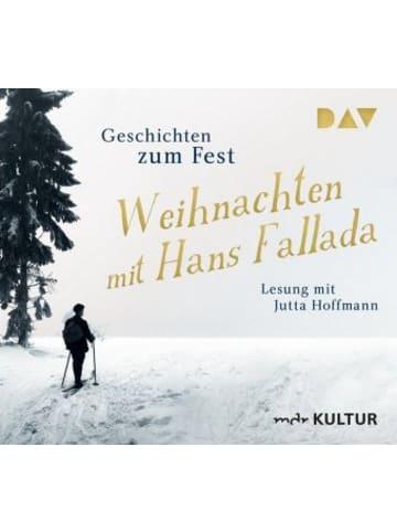 Der Audio Verlag Weihnachten mit Hans Fallada. Geschichten zum Fest, 2 Audio-CDs