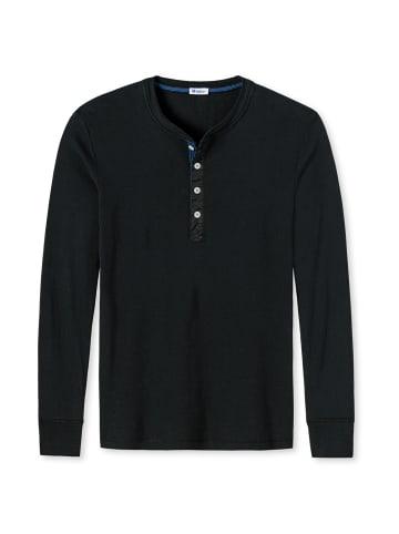 Schiesser Revival T-Shirt in Schwarz