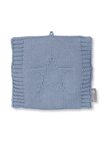 Sterntaler Strick-Wärmekissen in bleu