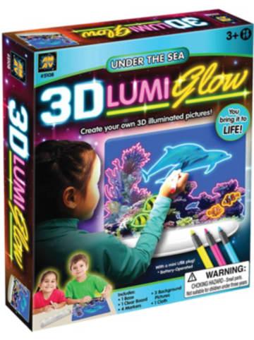 Diamant 3D-LUMI Glow Unter the Sea