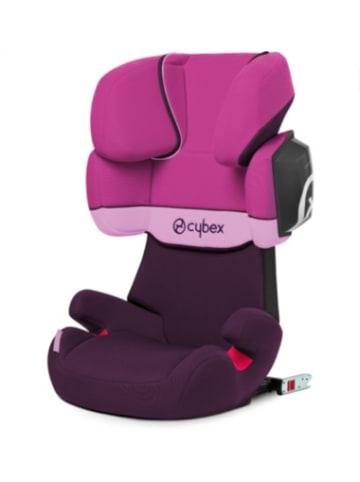 Cybex Auto-Kindersitz Solution X2-Fix, Silver-Line, Purple Rain
