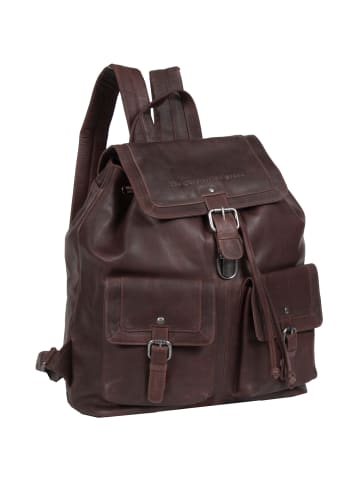 The Chesterfield Brand Wax Pull Up Joey Rucksack Leder 40 cm in brown